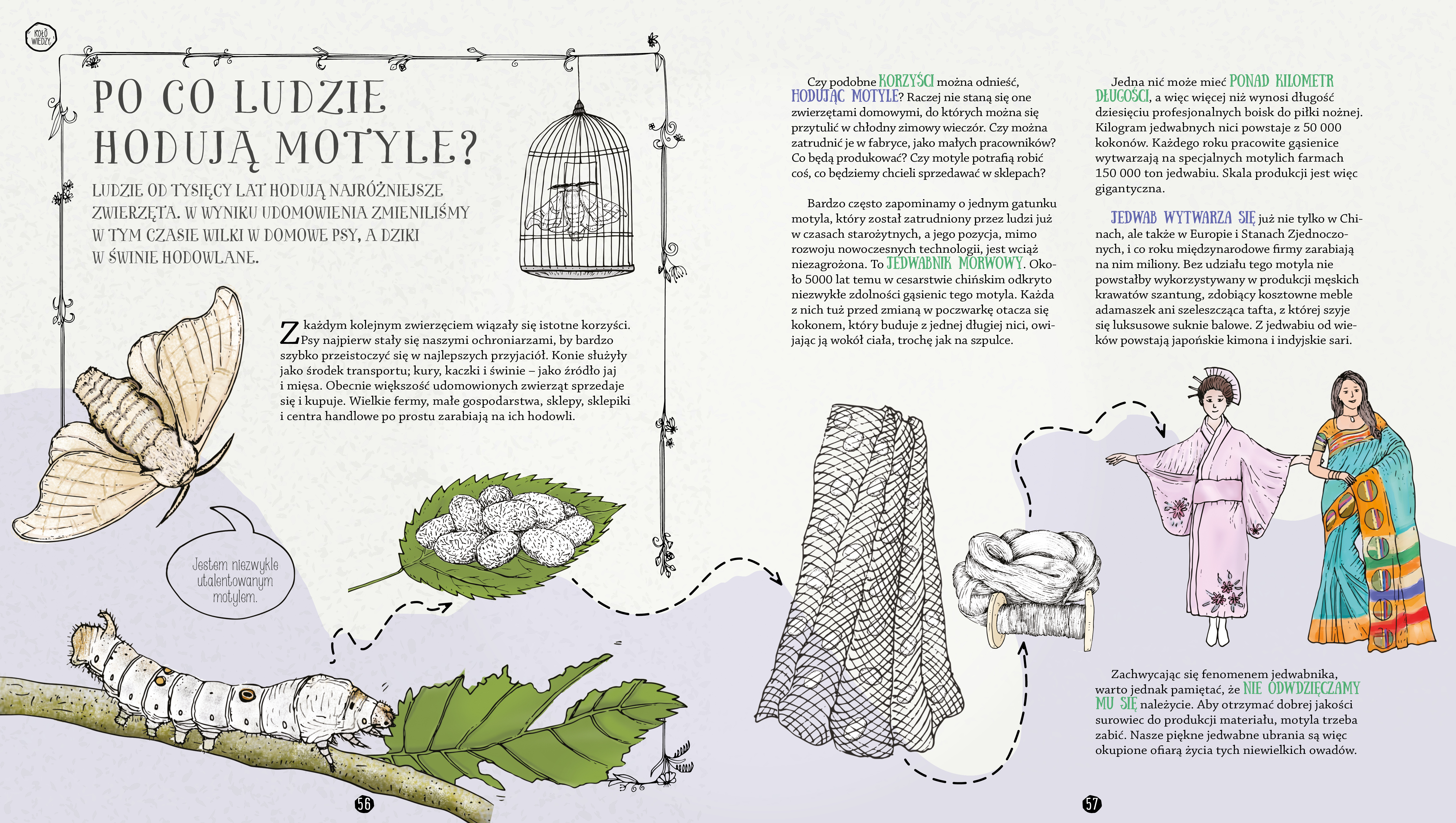Gąsienice W Czekoladzie I Inne Tajemnice Motyli Las Książek